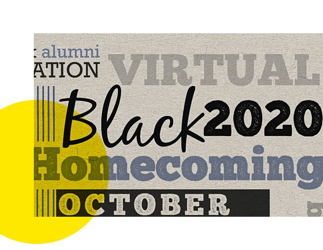 2020 Virtual Black Alumni Homecoming