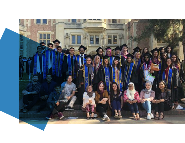 Muslim Student Association at UCLA 2018 Commencement